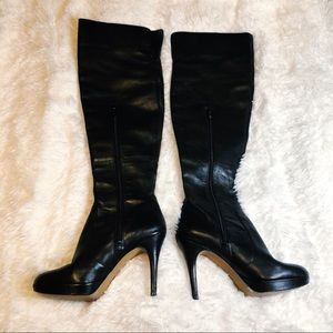 Vince Camuto Over the Knee Leather Boots